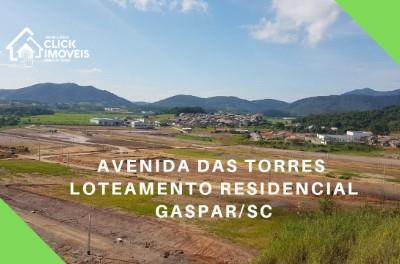 Terrenos no Loteamento Avenida das Torres - Gaspar/SC